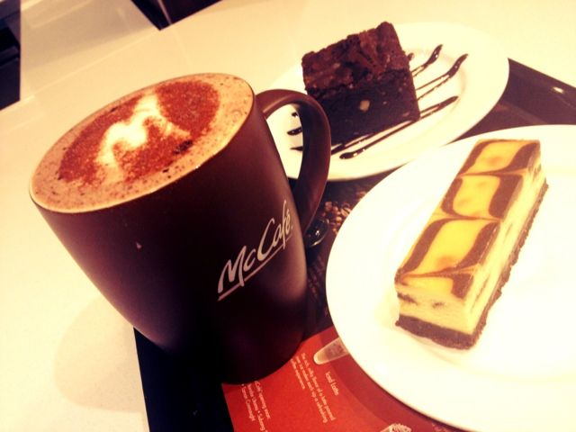 McCafe first outlet in Malaysia!! :D    http://quachee.blogspot.com/2012/07/mccafe-finally-comes-to-malaysia.html