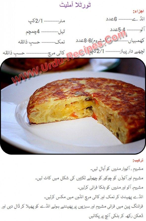 Recipe in urdu spanish recipes in urdu tortilla omelet egg recipe in tortilla omelet egg recipe in urdu urdu recipes find cooking recipes in urdu forumfinder Image collections