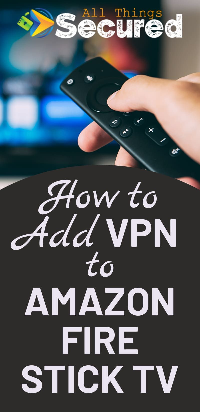 How to Install a VPN on Amazon Fire TV Stick (With images