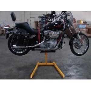 1000 Lb Portable Motorcycle Bike Lift Bottle Jack Hydraulic Cruiser Stand Bike Lift Motorcycle Bike Motorcycle