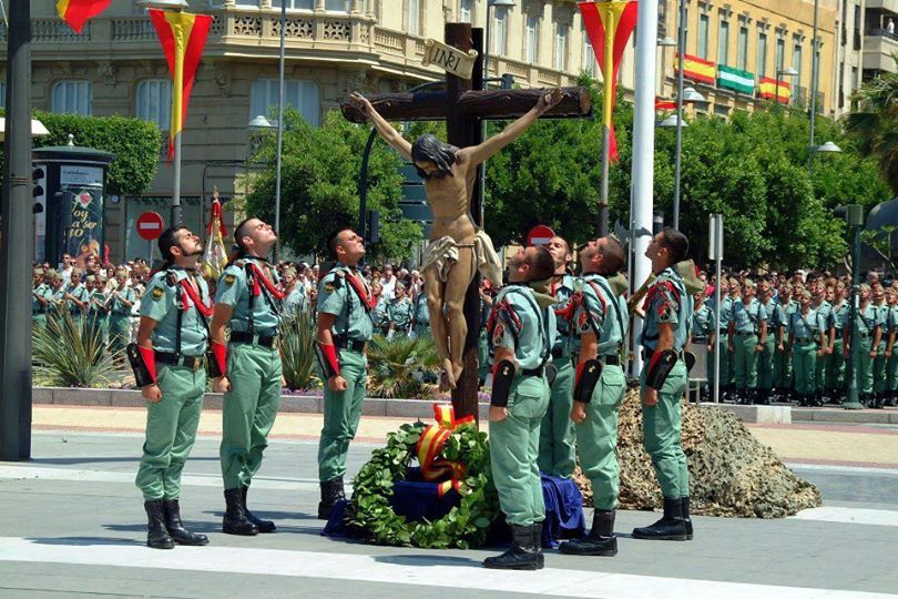 Spanish Foreign Legion During The Good Friday Legion Spanish Bride Of Christ