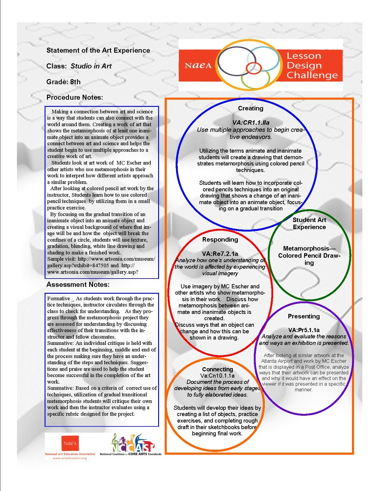 Pin By Betsy Logan On Naea Lesson Design Challenge