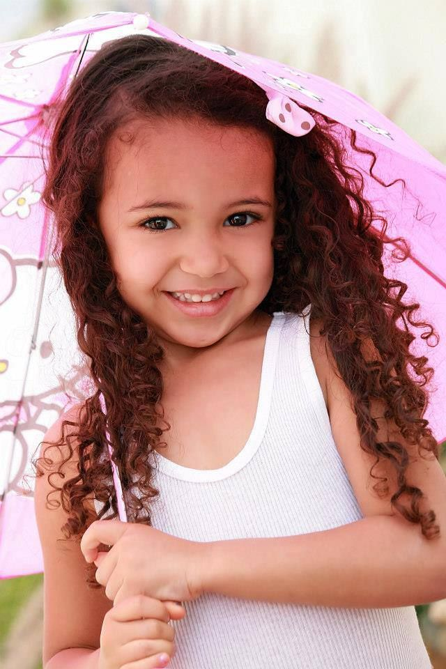 Pretty Little Mixed Girls Pretty Mixed Baby Girls With Curly Hair
