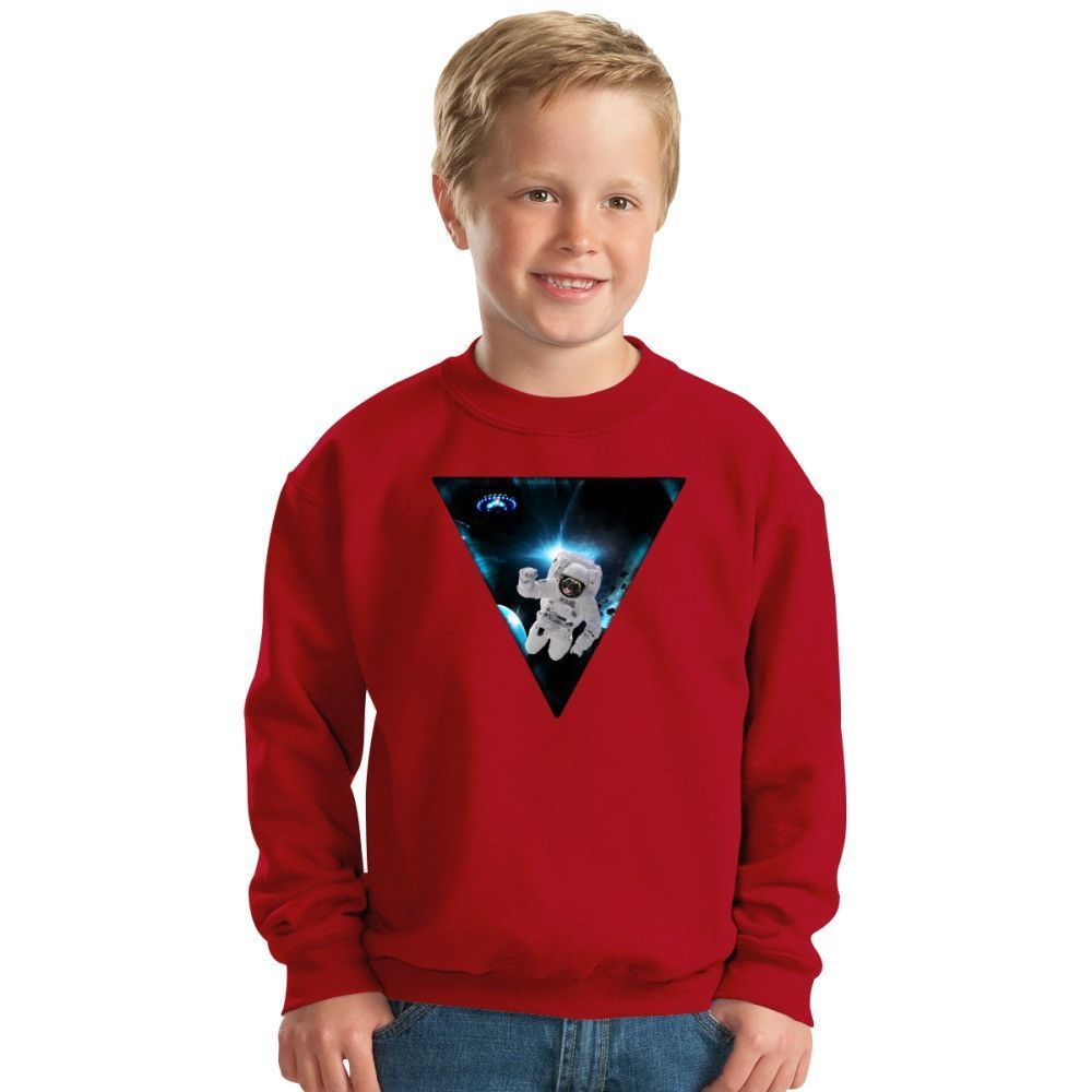 Captain Snot Lost In Space Kids Sweatshirt