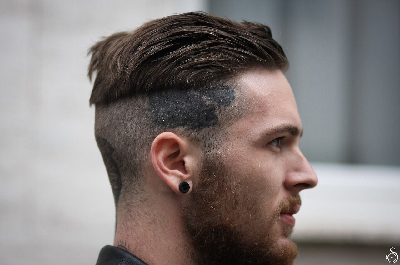 layered non fade | ears trimmed | undercut hairstyles