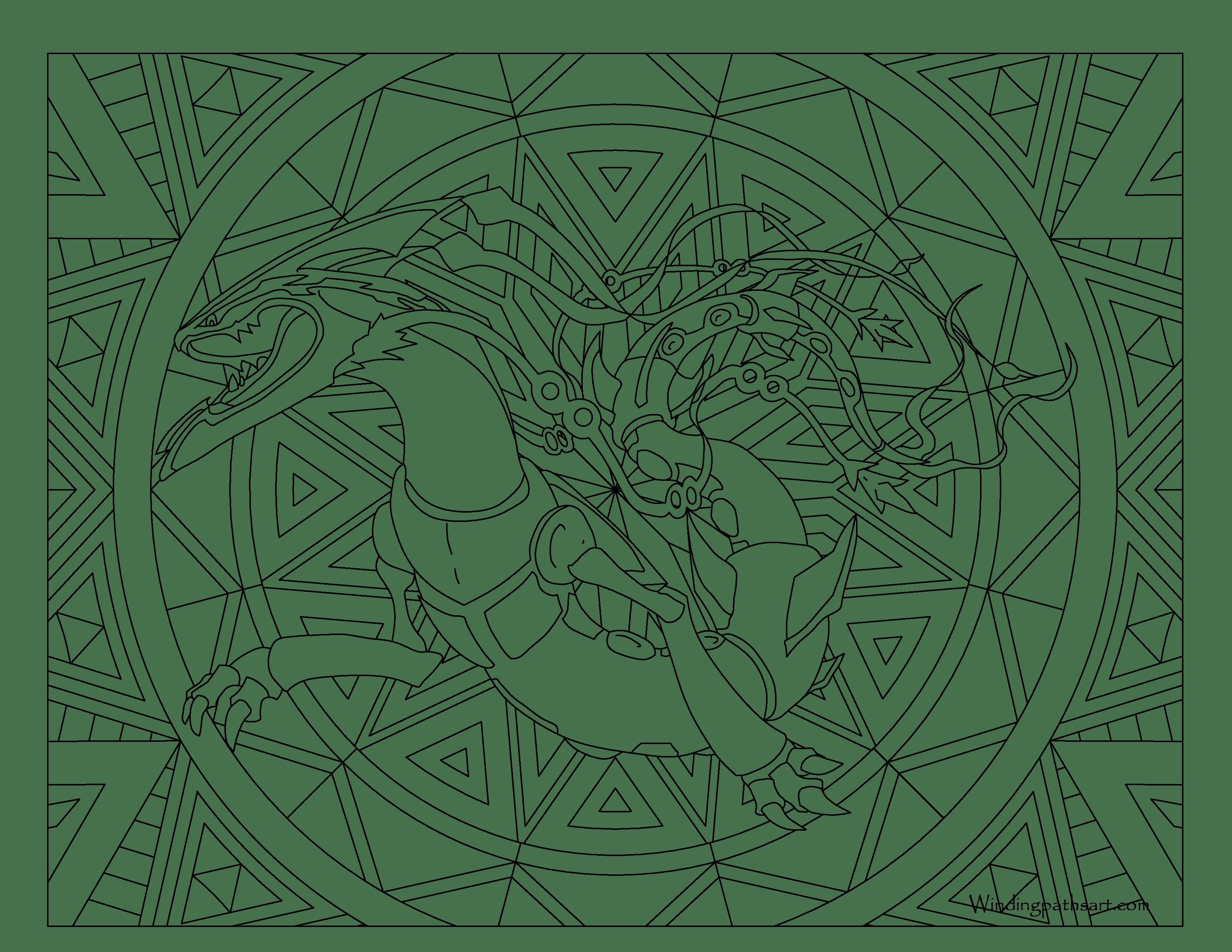 Mega Rayquaza Pokemon