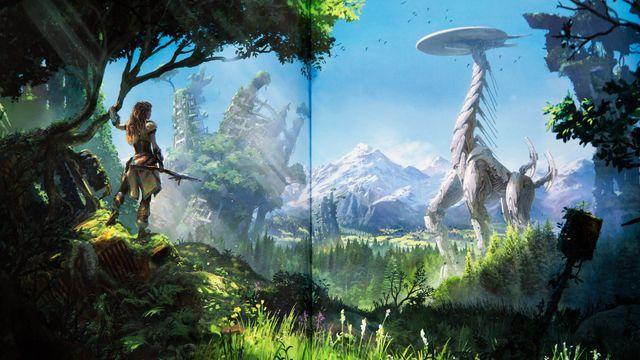 Horizon Zero Dawn's art book is as beautiful as the game