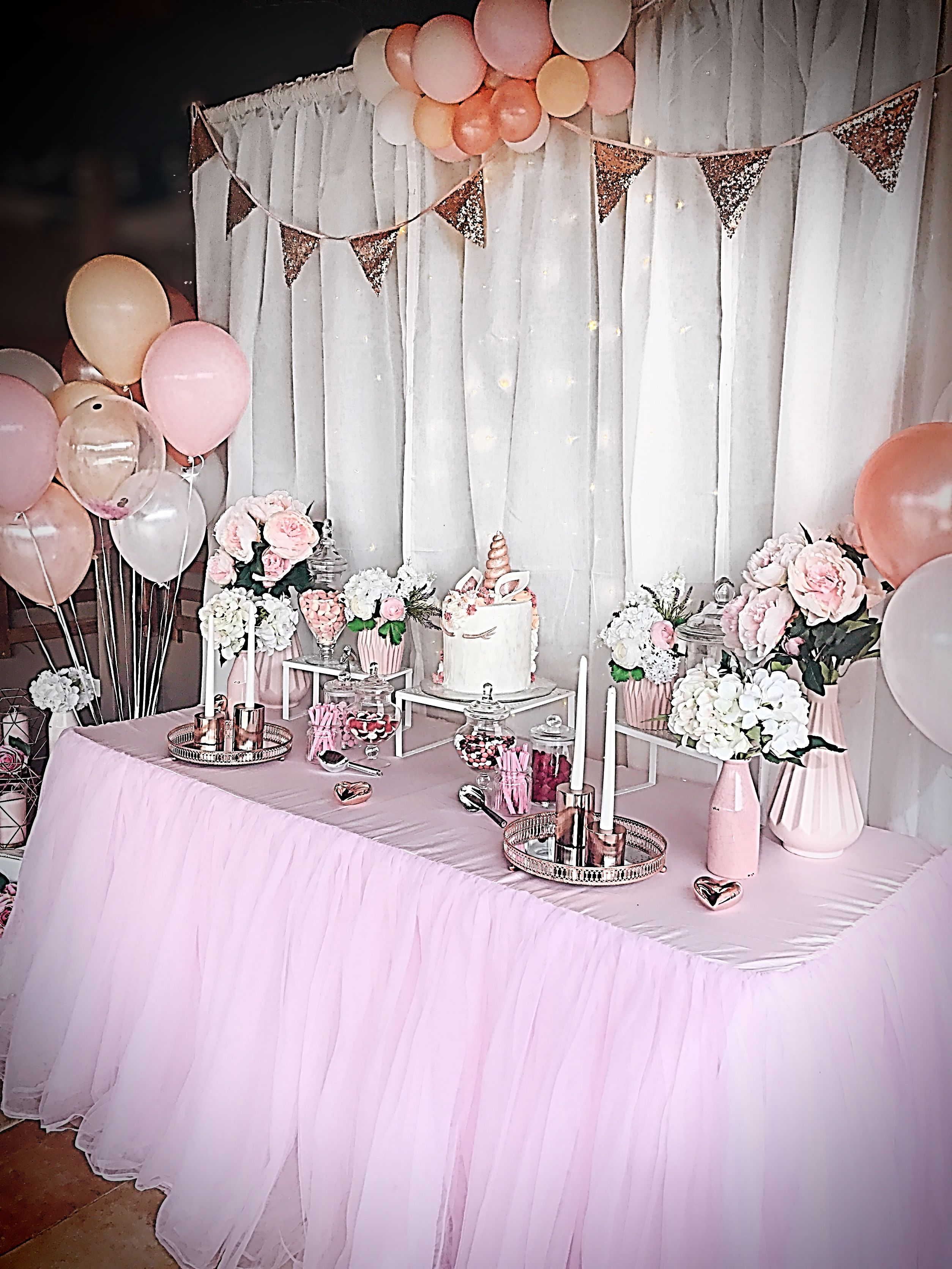 Tremendous Blush Pink And Rose Gold Buffet Styling Stylish Soirees In Interior Design Ideas Gentotryabchikinfo