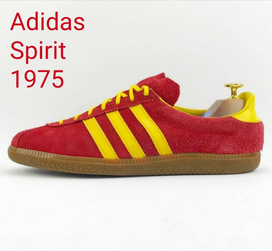Banzai Secondly boy  First released in 1975 in Austria 🇦🇹 from Adidas' Klagenfurt factory, the  Spirit are mere youngsters at 44-yrs…   Sneakers fashion