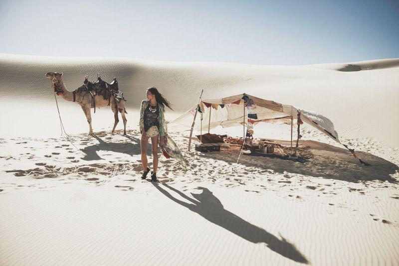 Spell Designs White Dunes, Gypsy Hues fall 14 lookbook