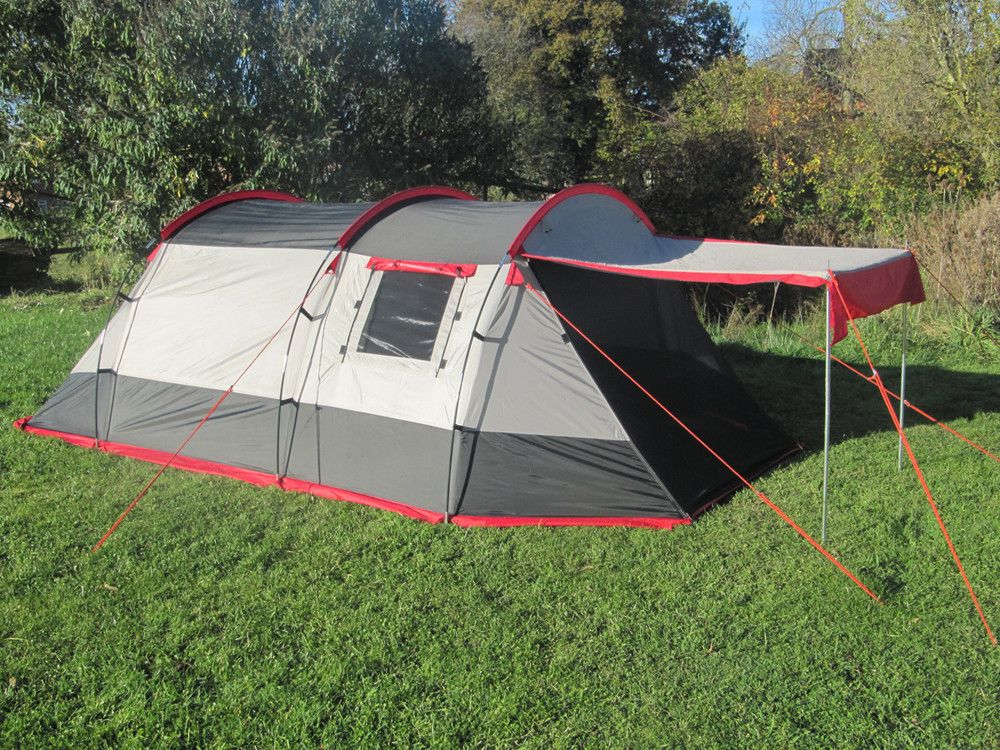 Three Berth Small Family Tent With Canopy