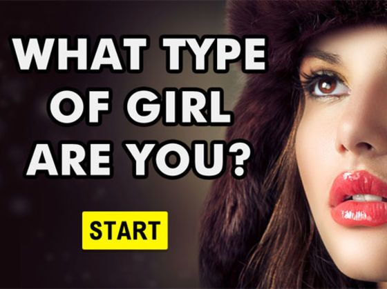 what type of girl are you quiz