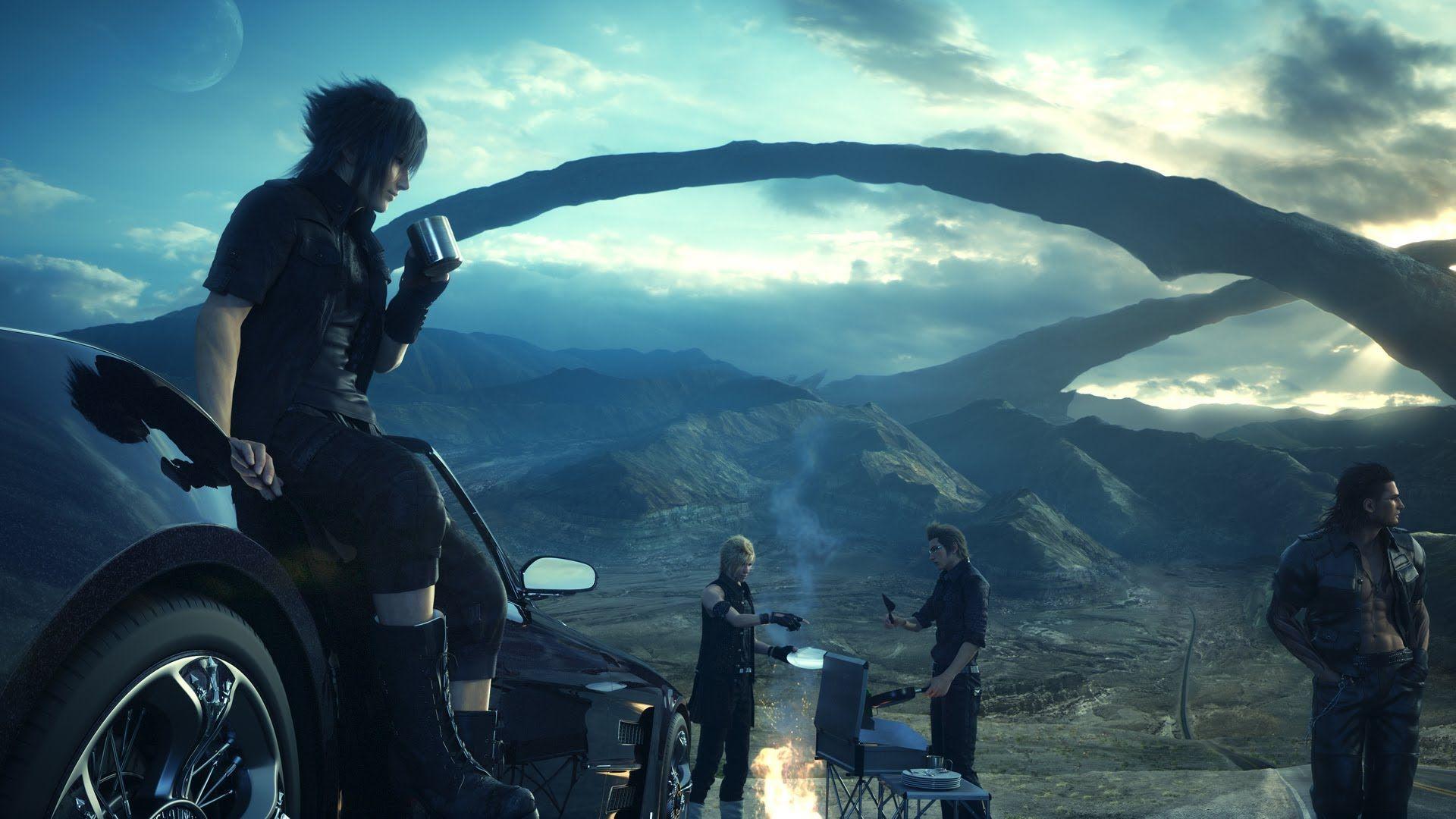 Final Fantasy 15/Final Fantasy XV - English Voiceover Trailer (PS4/Xbox ...