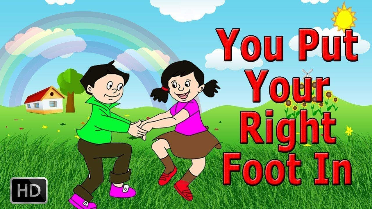 Put Your Right Hand In Best Nursery Rhymes For Children