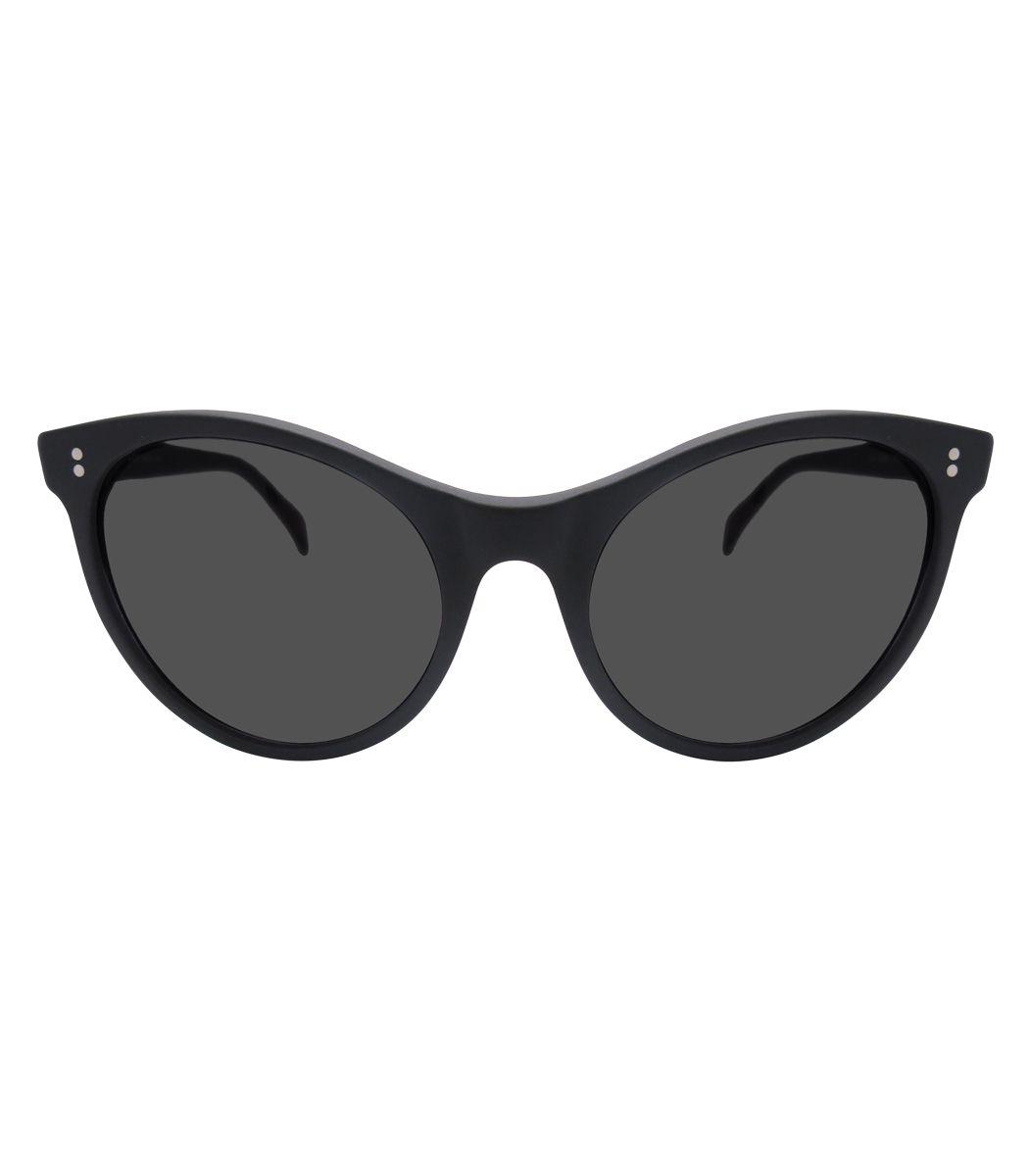52697ef011 Illesteva Claire Matte Black Sunglasses | Sunglasses | Óculos