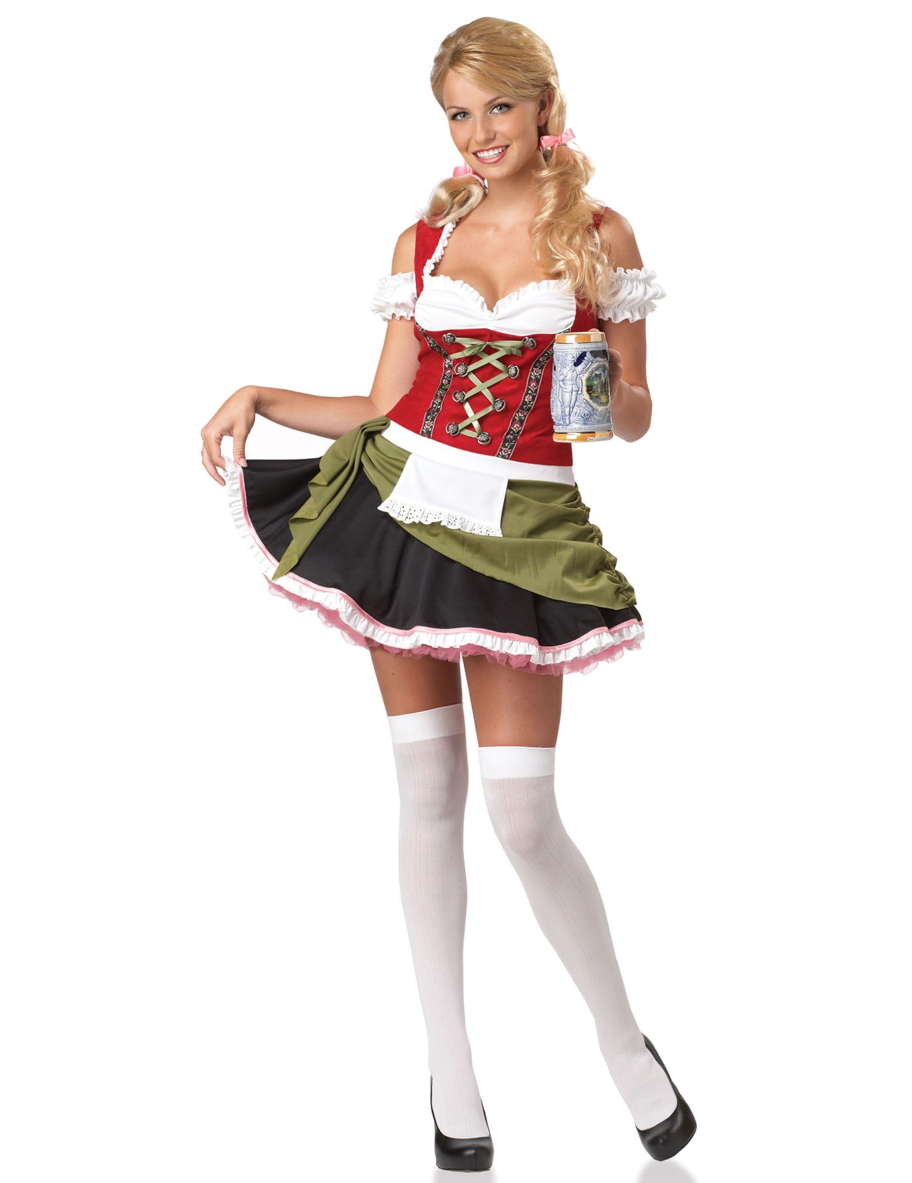e0a1ef7d102542 Bayerin Oktoberfest Dirndl Damenkostüm bunt , günstige Faschings Kostüme  bei Karneval Megastore, der größte Karneval und Faschings Kostüm- und  Partyartikel ...