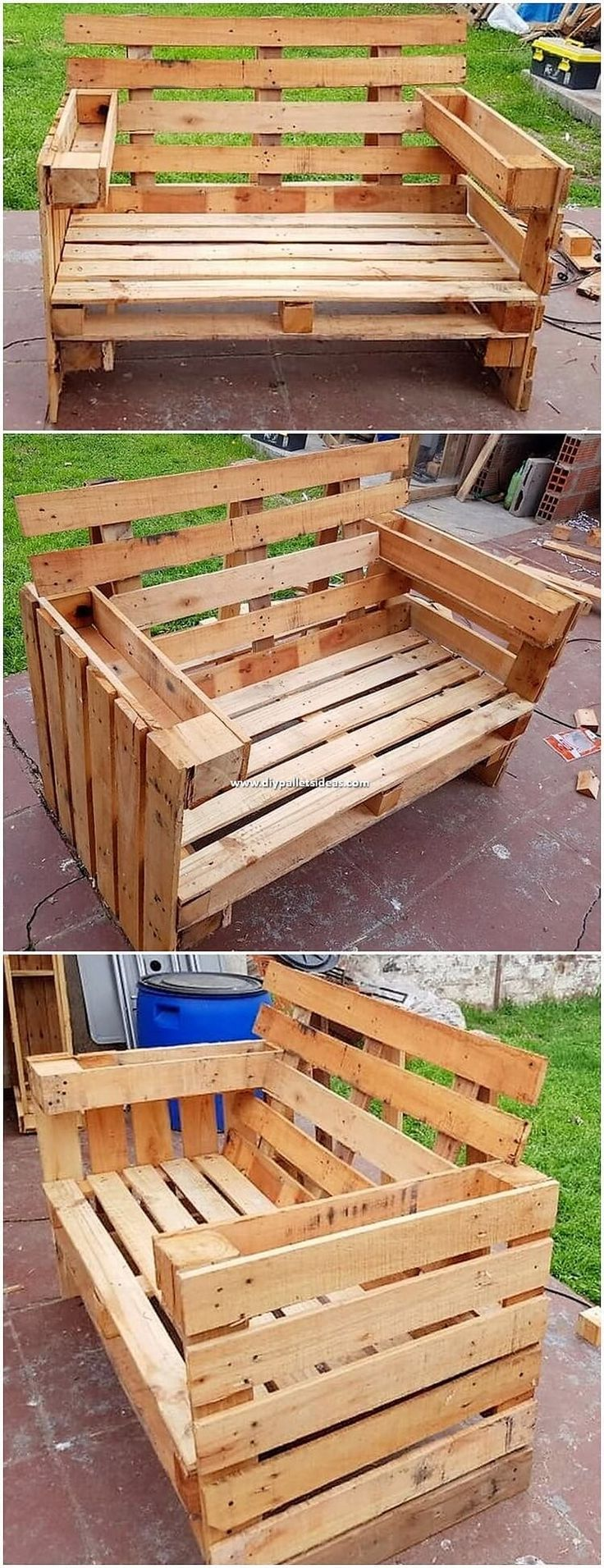 These DIY Recycled Pallet Ideas are Easy to Copy | Wood ...