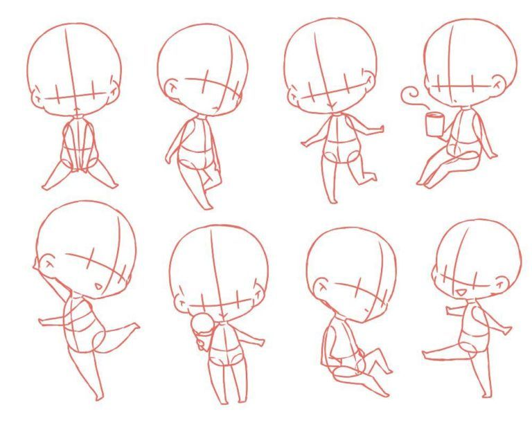 Chibi Drawing Reference And Sketches For Artists Chibi Girl Drawings Anime Drawings Tutorials Chibi Body