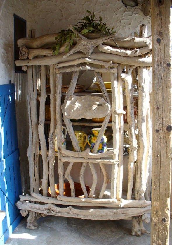 Driftwood Cabinet Möbel Furniture Treibholz Treibholz