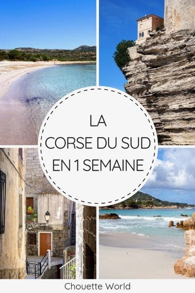 1 WOCHE IN SÜDKORSIKA: REISEPLAN - Reiseblog - Chouette World   - Idées Bord de Mer - France - #Bord #Chouette #France #idees #Mer #Reiseblog #Reiseplan #SÜDKORSIKA #Woche #World