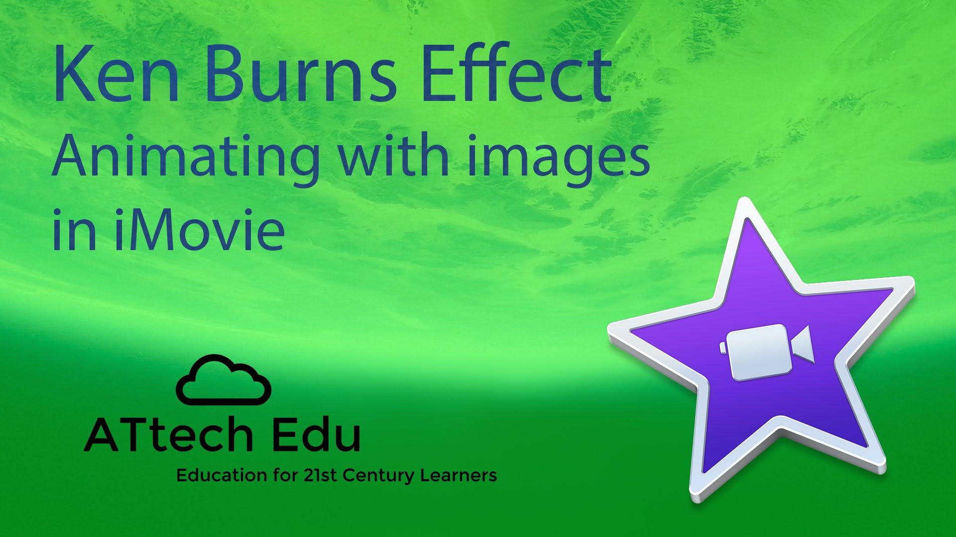 The iMovie Ken Burns Effect - move objects across the screen - zoom ...