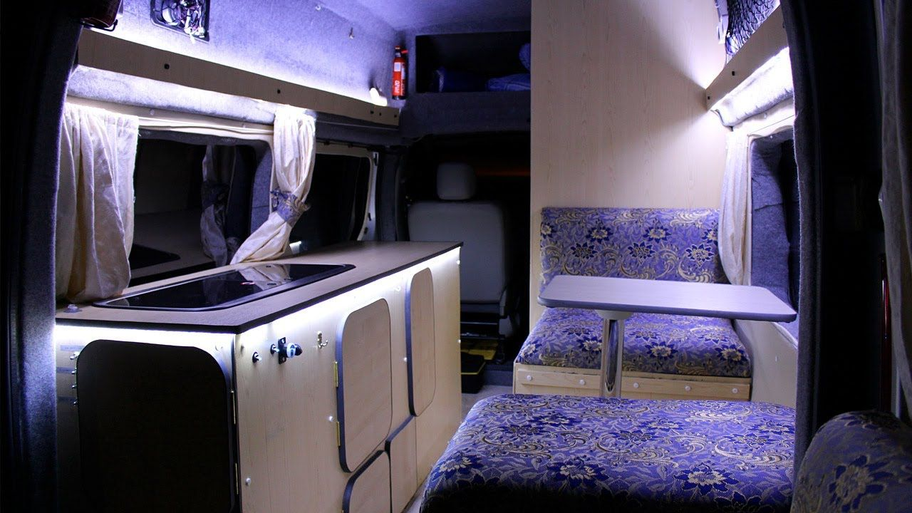Step By Talk Through Walkthrough Of How I Converted A Basic Panel Van Into Camper Motorhome On Relatively Low Budget
