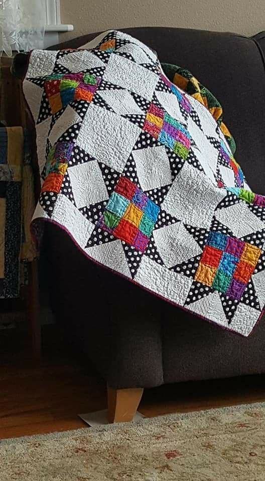 Pin By Monica Grote On Quilt Inspirations Quilts Haken Sterren