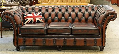 British Chic Chelsea Chesterfield Chesterfield Sofas Sofa Sessel Chesterfield