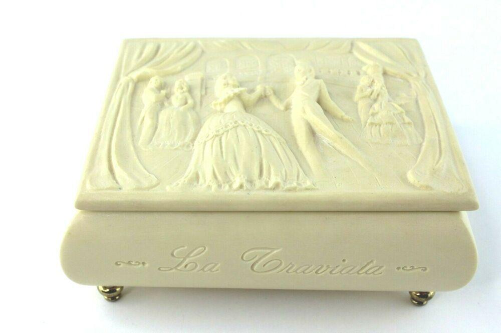 Music of the Night CLASSIC Rectangle jewelry Music Box Phantom of the Opera