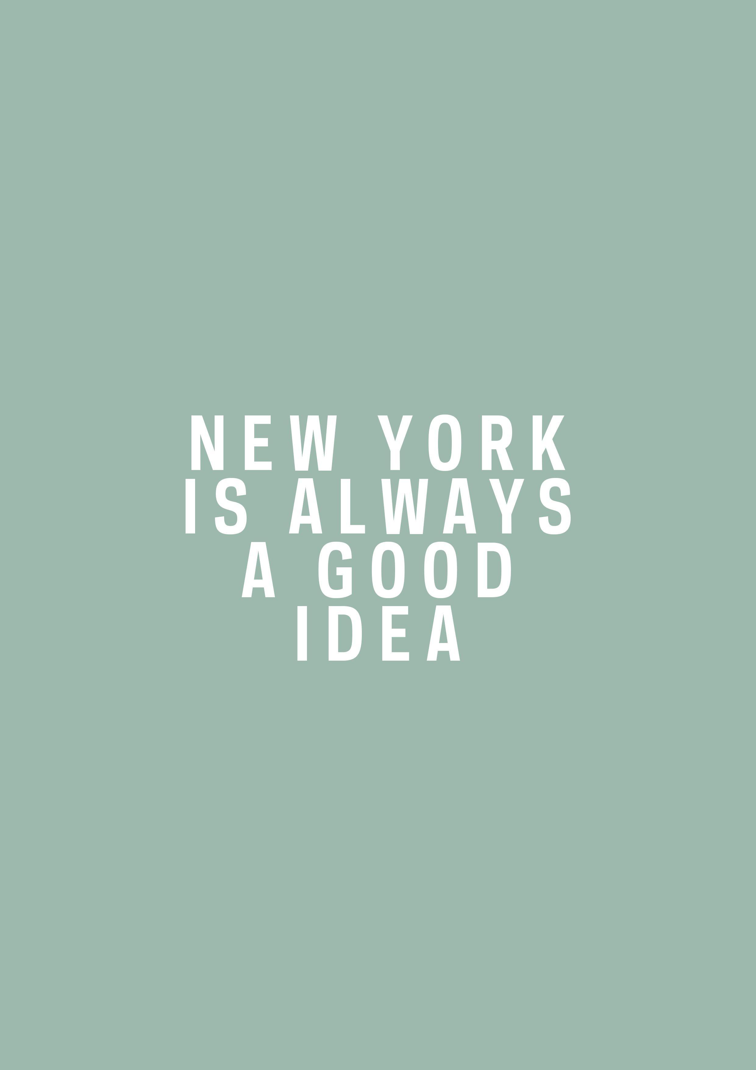 NYC is always a good idea. | NEW YORK | Good selfie captions ...