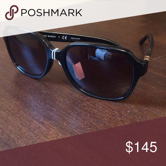 140f2b28a4d0 TORY BURCH TY 7098 1377/13 BLACK BROWN sunglasses Measurements:  55mm-16mm-135mm Composite frame glass lens Lens width: 55mm millimeters  Lens height: 44 ...