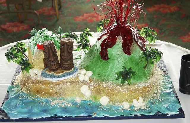 My wedding cake  | Cakes | Volcano cake, Cake, Wedding cakes