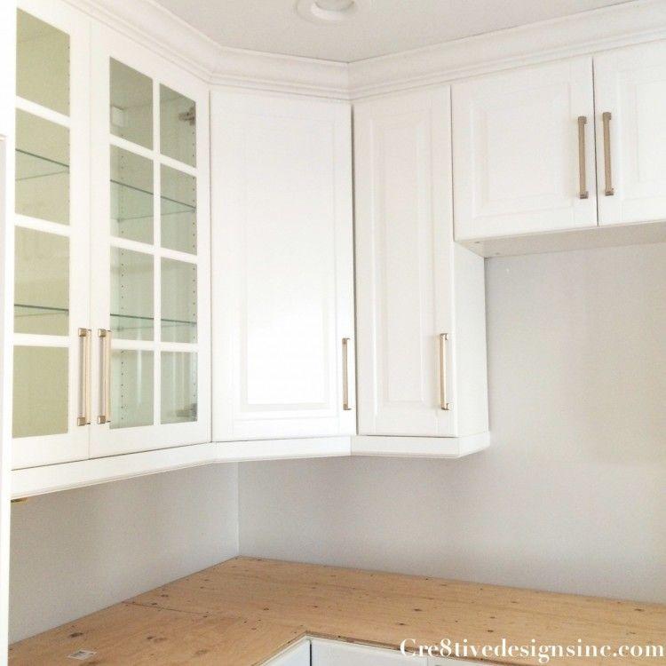 Kitchen Cabinet Crown Molding Installation: How To Install A Crown Molding To Kitchen Cabinets In 2019