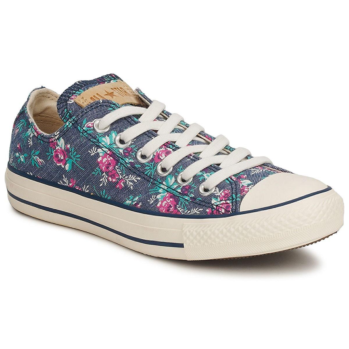 153150691279 Floral Converse Shoe