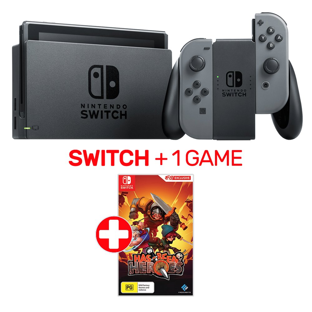 Switch + Has Been Heroes 380.15, Xbox 1S + Destiny 2
