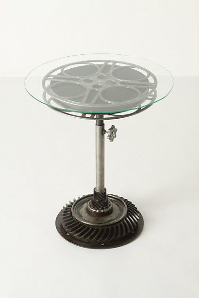 Pretty cool Film Reel End Table Anthropologiecom No Place