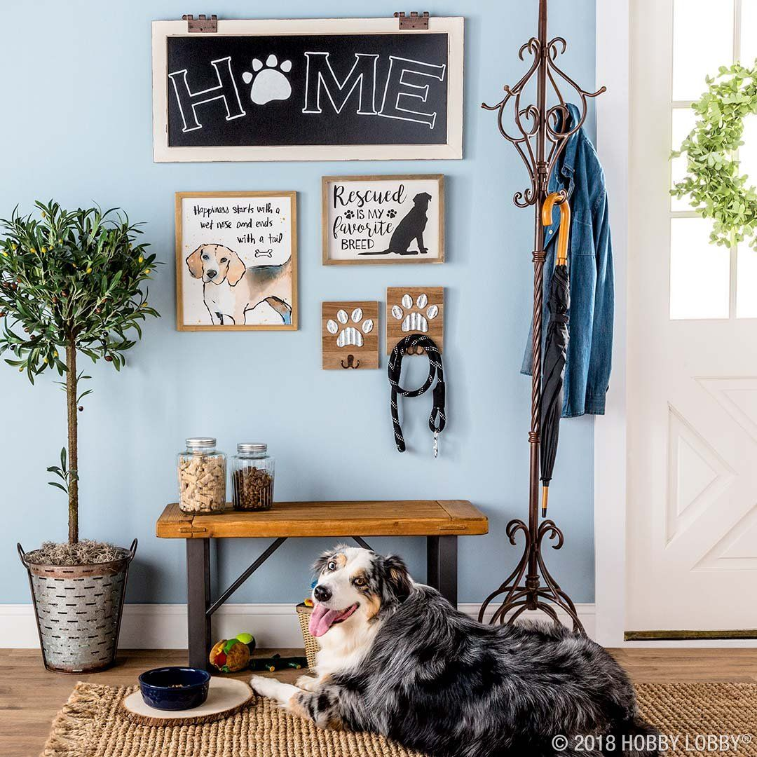 Create A Pawsitively Adorable Space For Your Pup With Dog Themed Wall Decor