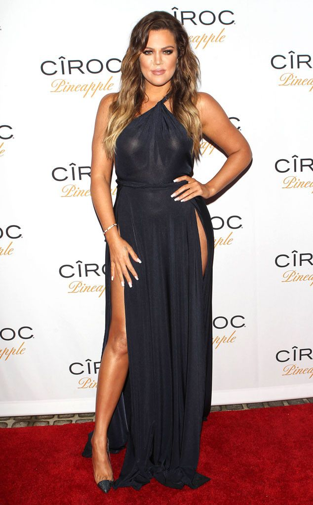 Red Carpet To There From Khloe Kardashian S Best Looks The Reality Star Sizzles At Ex