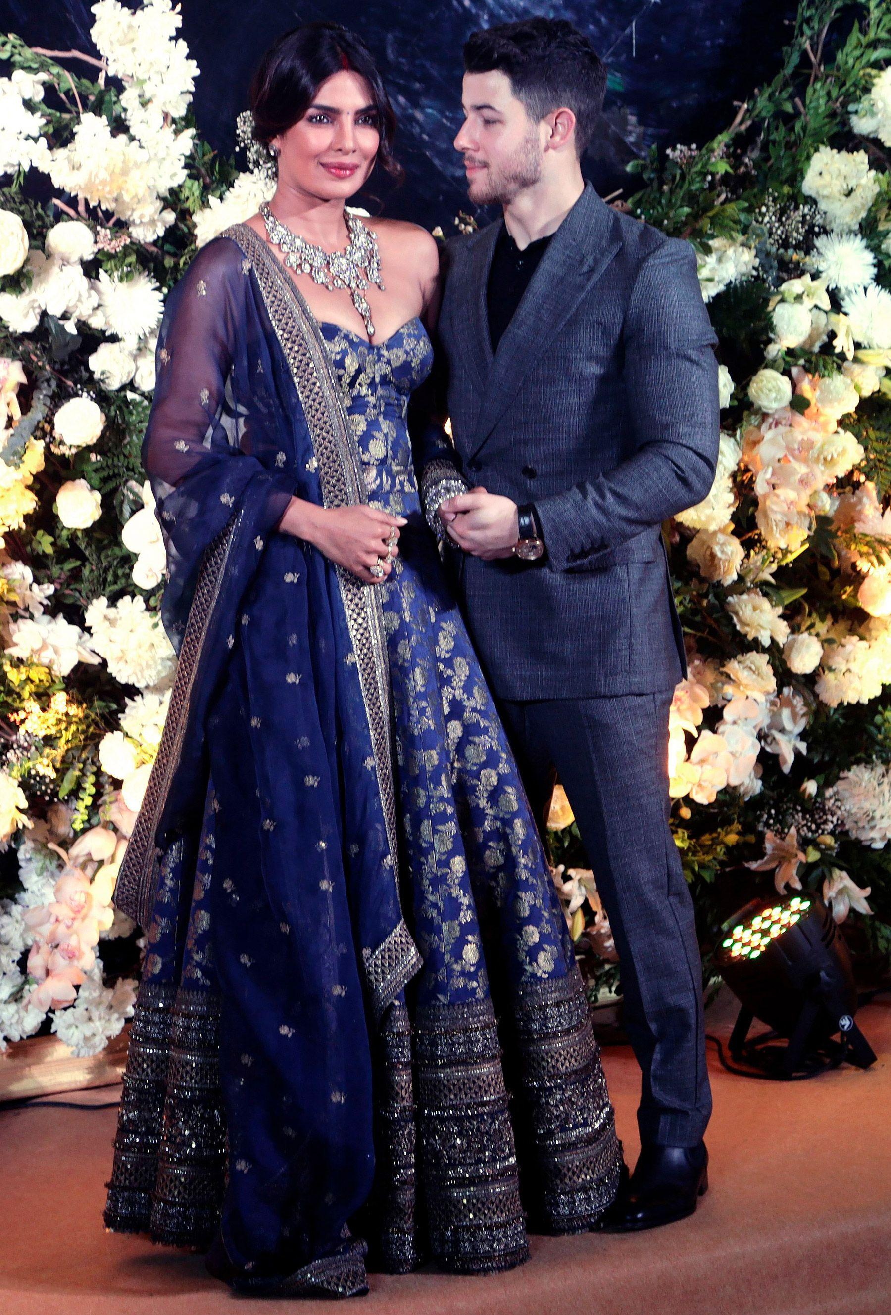 34315148376f Priyanka Chopra and Nick Jonas Celebrate Marriage with Second Wedding  Reception in Mumbai