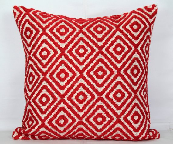Swell 26X26 Pillow Cover Pillow Covers 20X20 Red Throw Pillows Inzonedesignstudio Interior Chair Design Inzonedesignstudiocom