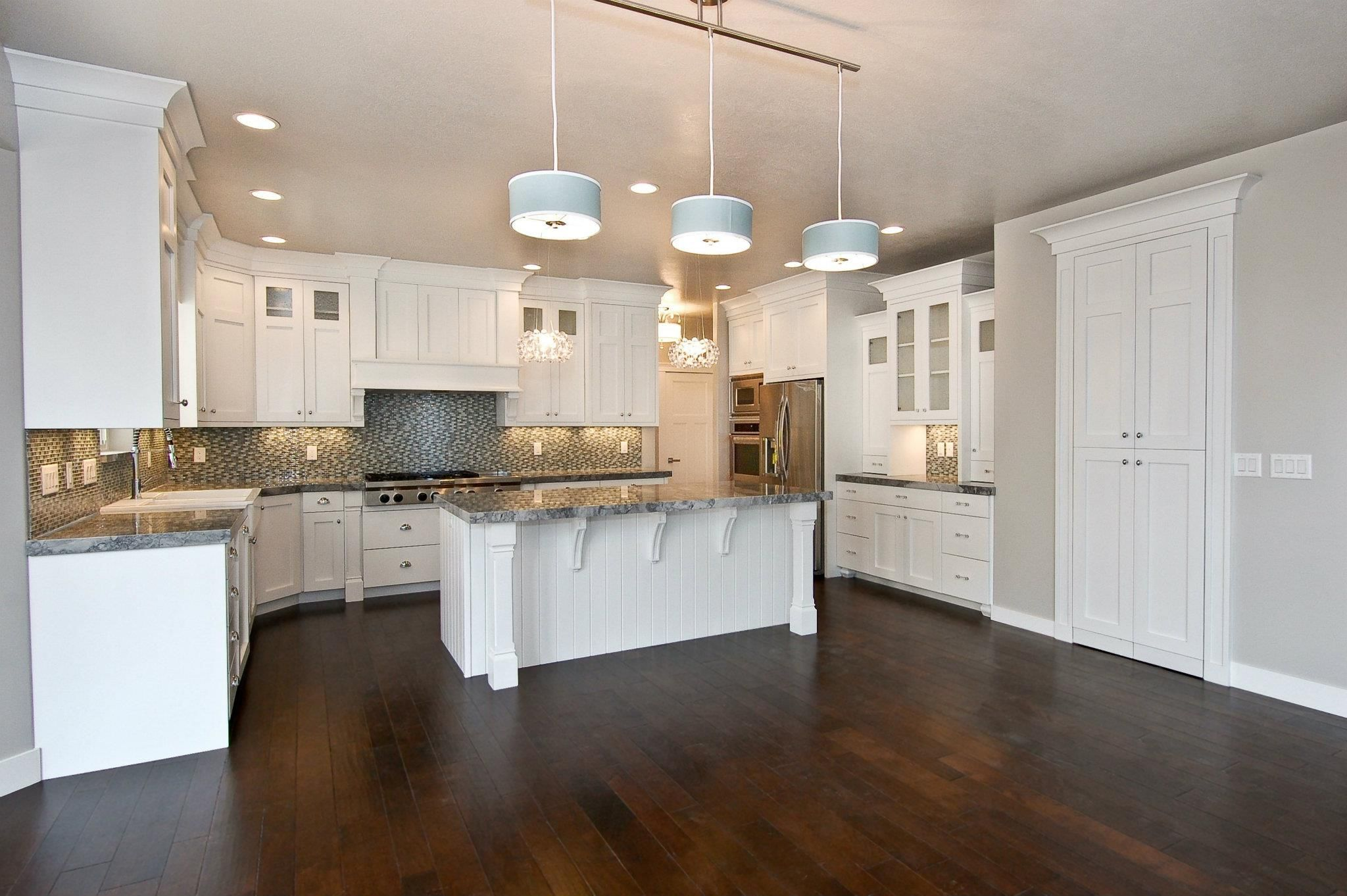 Custom mirage located in davis county utah craftsman for Craftsman style kitchen flooring