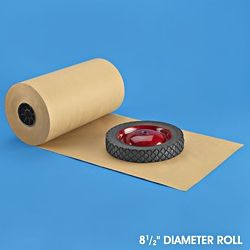 """40 lb. Kraft Paper Roll - 15"""" x 900' S-11417"""
