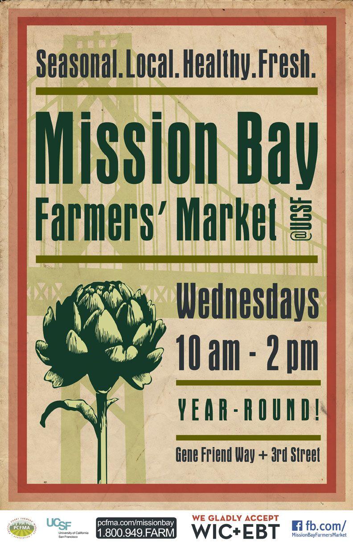 Mission bay farmers market at ucsf san francisco