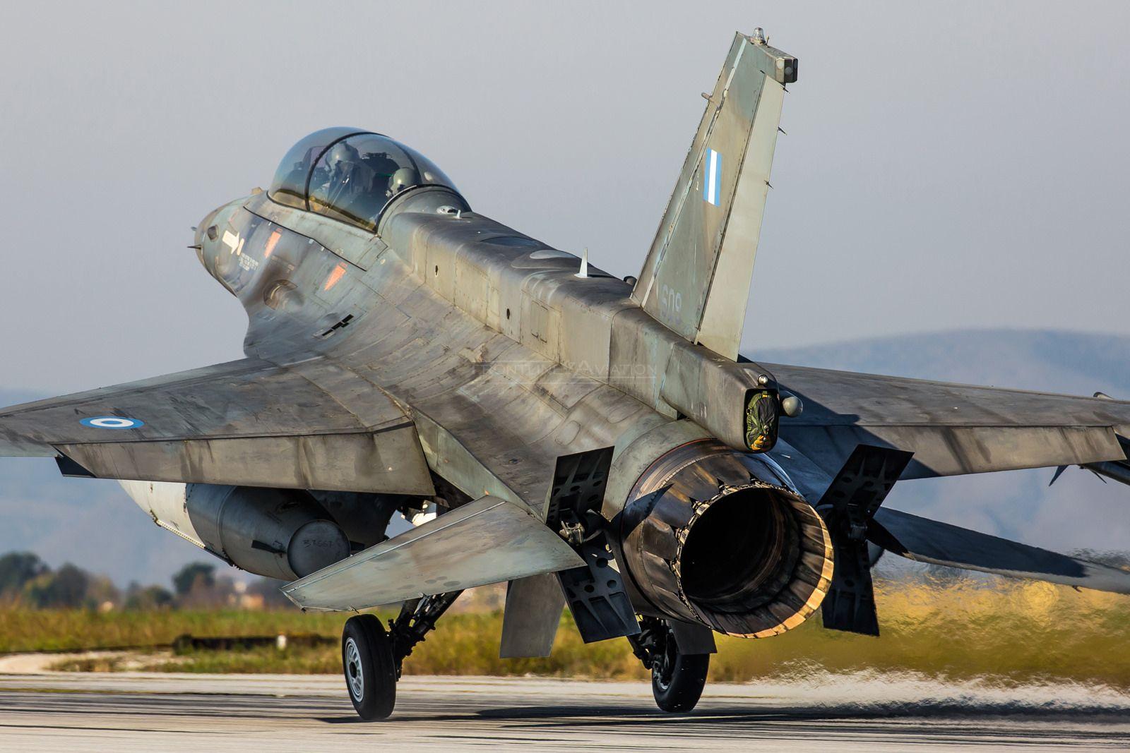 F16D, 'Ghost' 337 Sqn, 110CW F16 fighting falcon