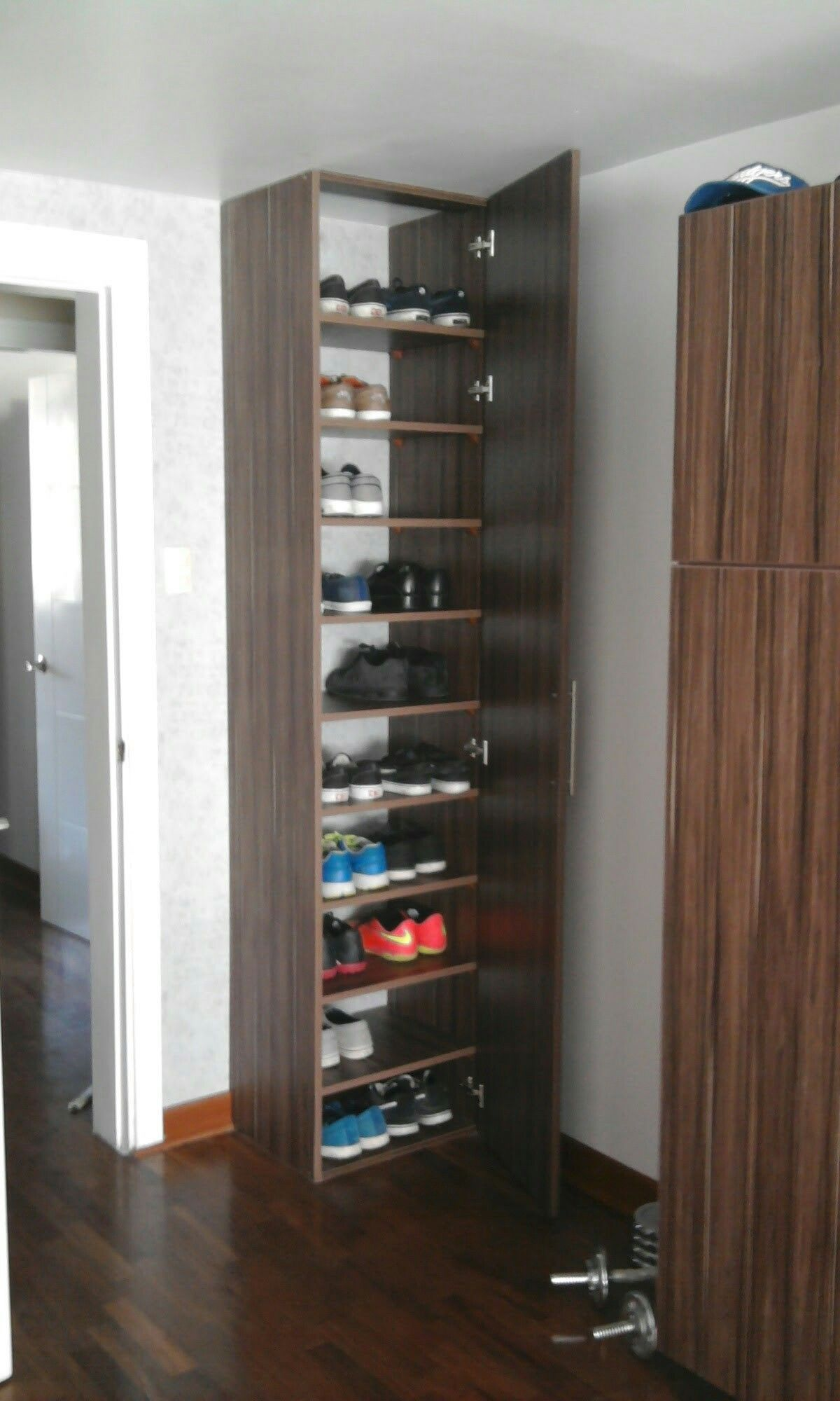 Zapatera repisas in 2019 mueble zapatero zapateras de - Armarios para zapatos ...