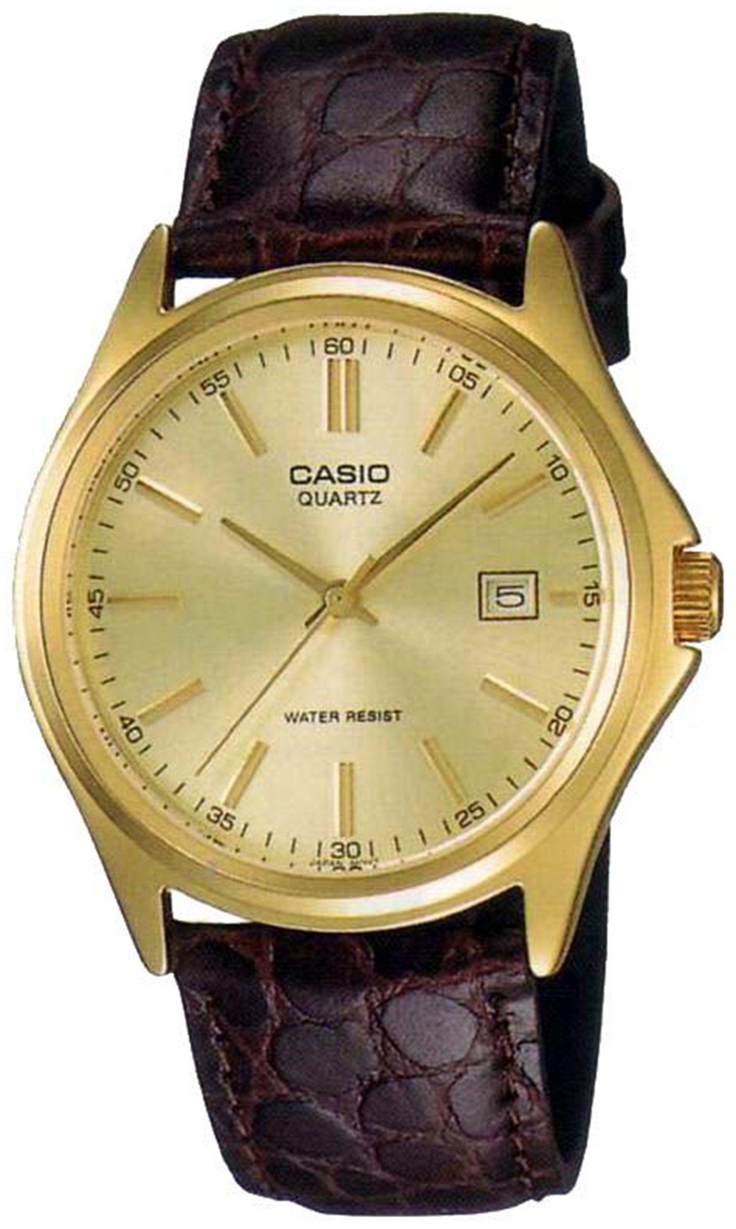 Casio reloj hombre piel marron MTP-1183Q-9A  Casio  Amazon.es  Relojes 764fe71e3e8c