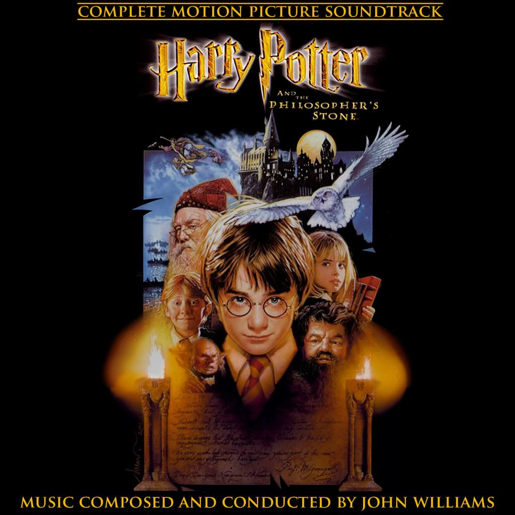 Harry Potter And The Philosopher S Stone Score By John Williams Motion Picture Harry Potter Philosophers Stone