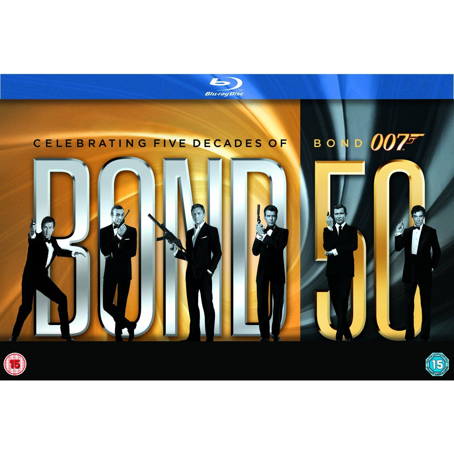 James Bond 22 Film Collection Blu Ray 1962 Amazon Co Uk