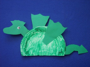 paper plate dragon craft for kids (3) & paper plate dragon craft for kids (3) | Crafts From My past ...