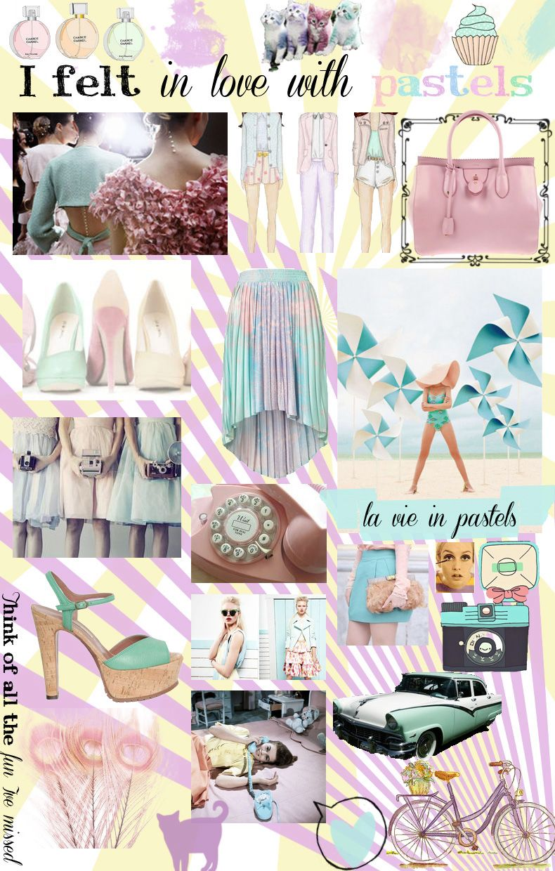 Trend fall of pastel colors rare photo